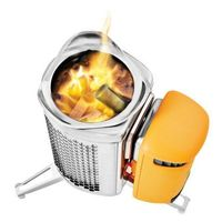 Горелка на дровах Biolite - CampStove 2 + FlexLight Silver/Orange