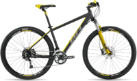 "Велосипед горный BH - Spike 29"" Alivio 27V XCM Remote 2017 Black/Yellow/Grey, р.M"