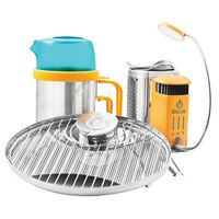 Горелка на дровах Biolite - CampStove 2 Bundle Silver/Orange